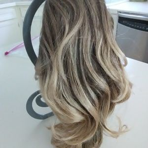 Ombre ponytail